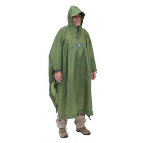 Exped Bivy-Poncho Dame green